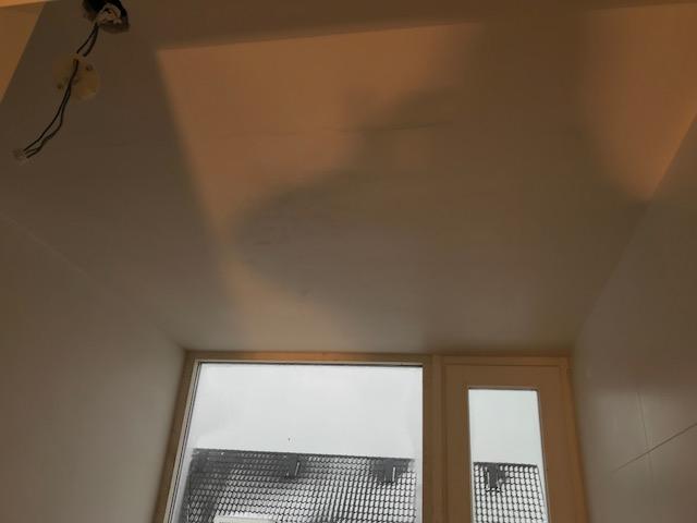 Binnen stucwerk wanden en plafonds