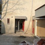 buiten muur stucen huis zeewolde