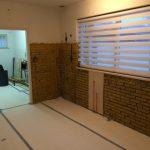 Sierpleister stucen muur-gemeente Leleystad