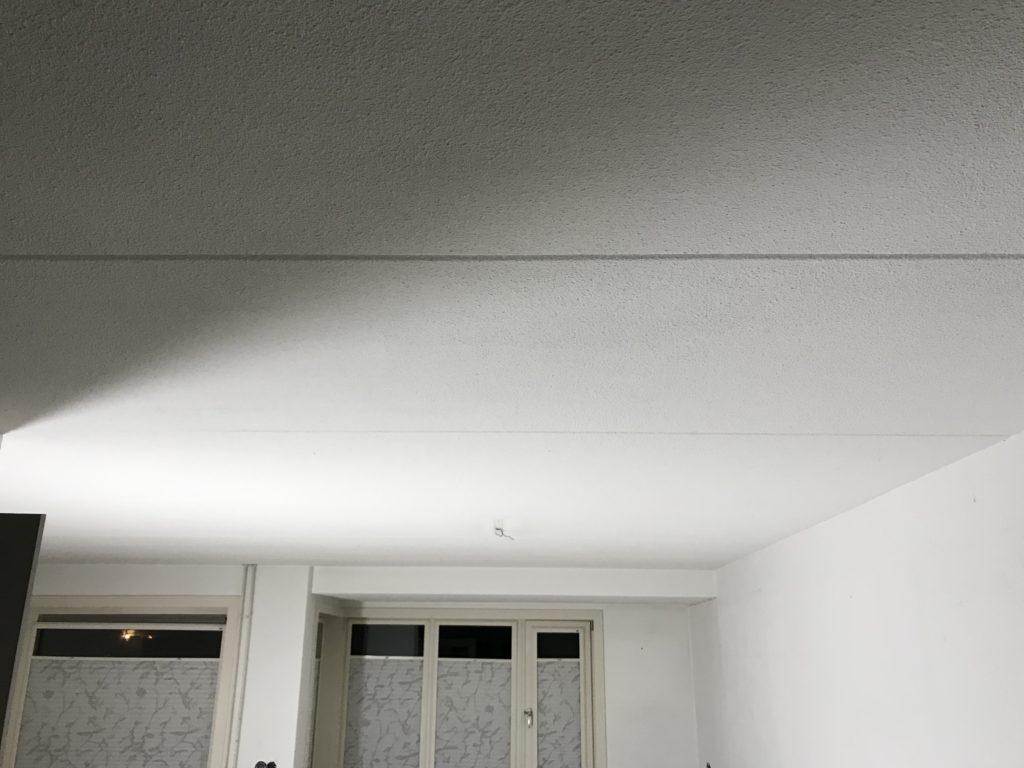 gladpleister plafond