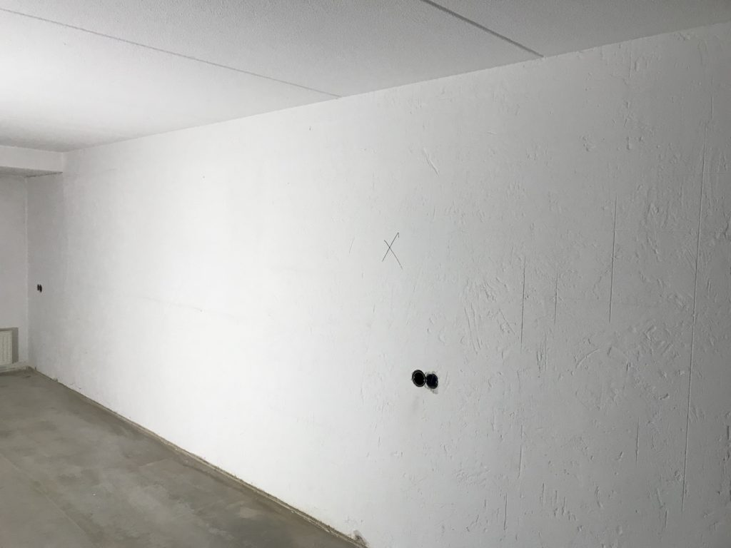 spachtelputz en gladpleister plafond
